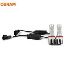 OSRAM 65219CW LED Противотуманные огни H8 H11 H16 12 В 10 Вт 6000 К холодный белый голубой лед ledriving комплект Пособия по немецкому языку качество более Яркий долгую жизнь