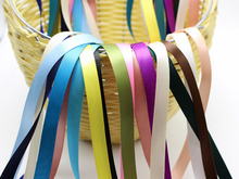 20 Meter 9mm(3/8) Double Sided Satin Ribbon Gift Bow Wedding Craft Color