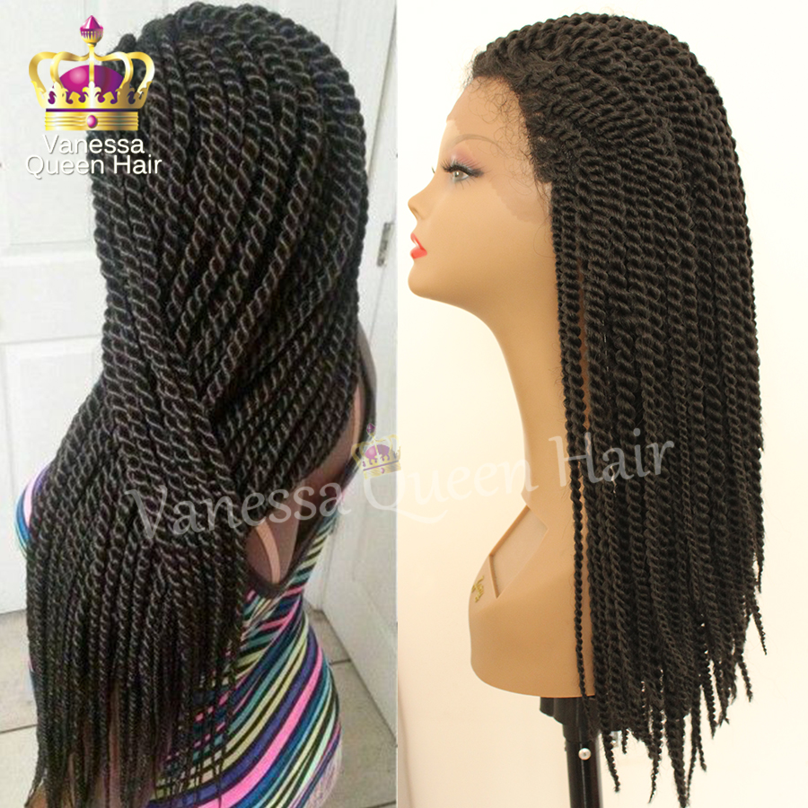 Cheap Sale Brazilian Hair Box Braiding Hair Micro Heat Resistant Braided Lace Front Wigs Hand Twist Lace Wigs With Baby Hair Wig Lace Wig Companieswig Hairband Aliexpress