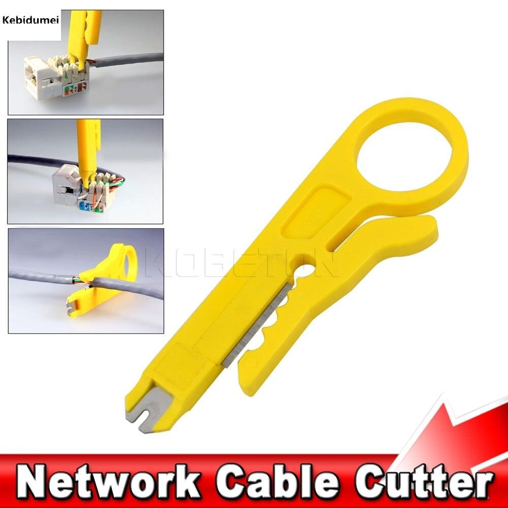 kebidumei Hot Easy use 10pcs netwrok tool Punch Down Network UTP ...