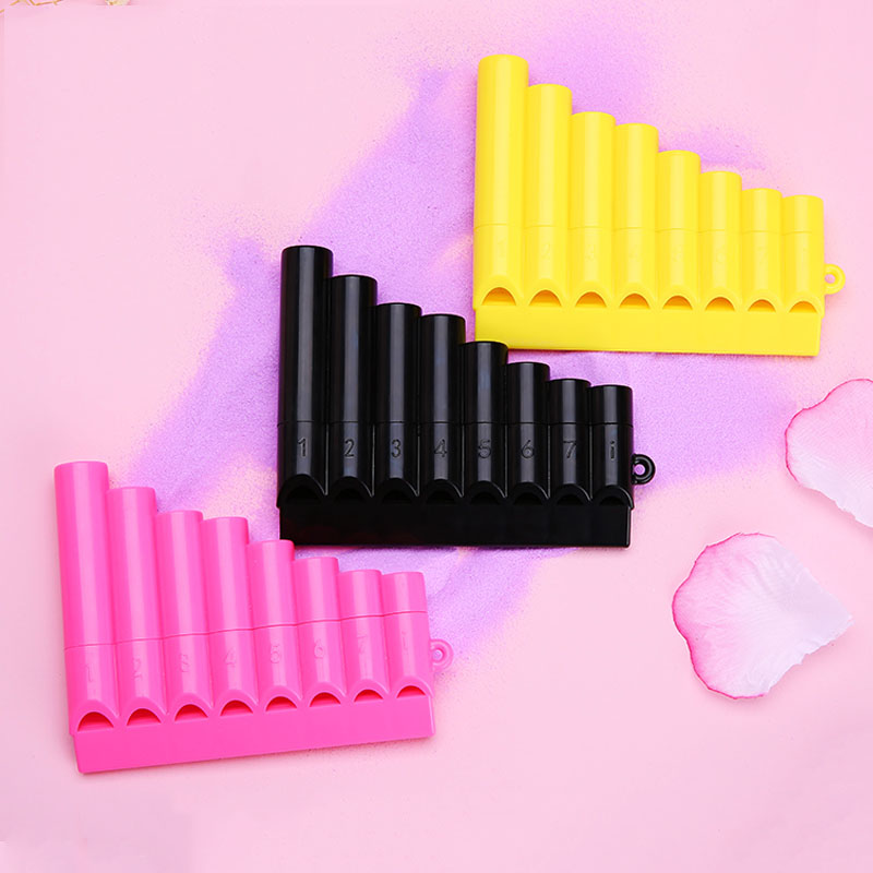Pan Pipes Woodwind  Pan Flute 8 Pipes Plastic Flauta Pan Pipes Handmade Panflutes Flauta Musical Instruments