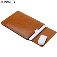 Canton Nalley PU Leather Sleeve Protector Bags For Apple Macbook Air Pro Retina 11 12 13