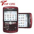 Original blackberry curve 8320 wifi del teclado qwerty del teléfono celular abierto garantía de 1 año