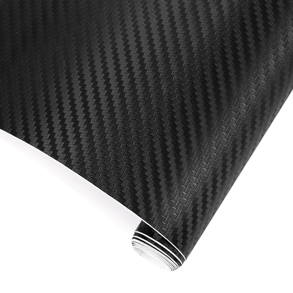 200cmX35cm 3D Car Film Carbon Fiber Vinyl Film Carbon Fibre Wrap Sheet Roll Film Car Stickers Motorcycle Car Styling Accessories(China)