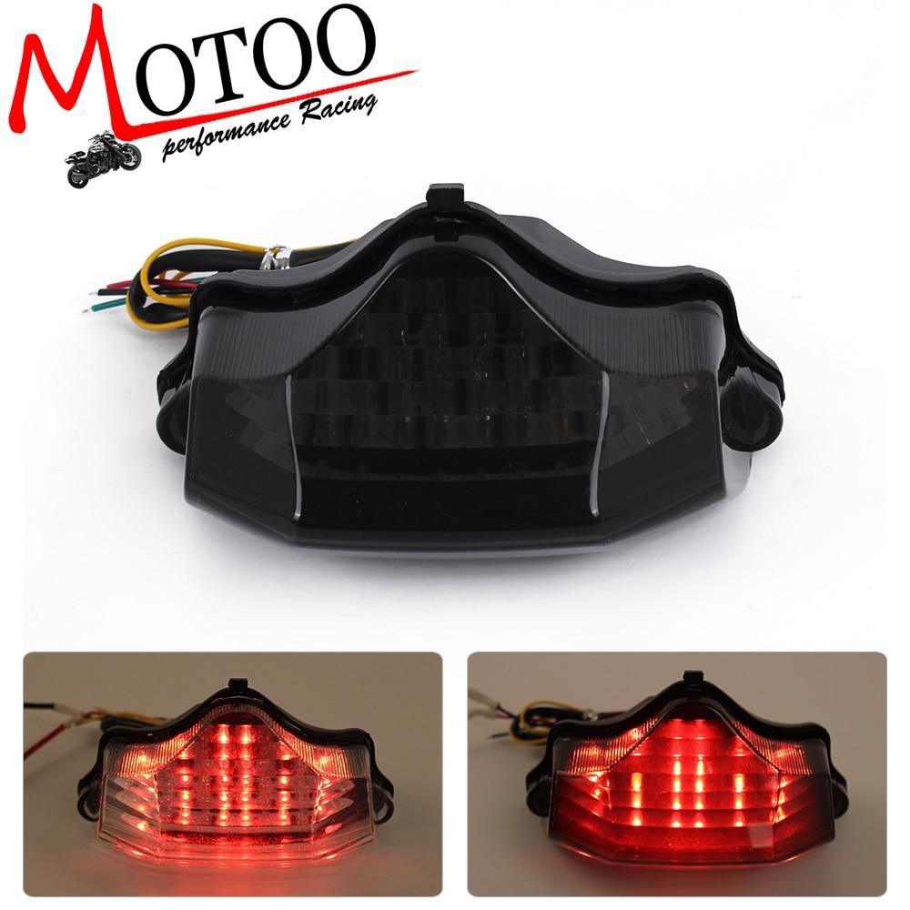 motoo motorcycle led tail brake turn signal integrated light for yamaha fz600 fz6 04  [ 1000 x 1000 Pixel ]