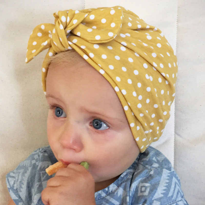 65be577d3690 Detail Feedback Questions about 2018 Sweet Dot Baby Girl Hat with ...