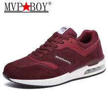 MVP BOY 2018 New Spring Men Breathable Mesh Walking Shoes Couples Outdoor Lovers Tennis Air Cushion Sneakers eu 36-44
