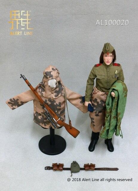 Alert Line Al100020 1 6 World War Ii Female Soviet Soldier Sniper