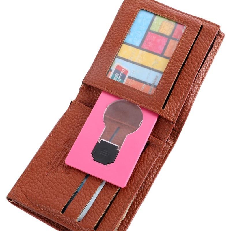 Portable Mini Lighting Wallet LED Card 7