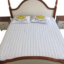Твердый матрас pad/крышка шлифования ткани кровать защиты площадки Twin/Single/Королева/Полный/Двойной/король Размер мягкий non-slip покрывало