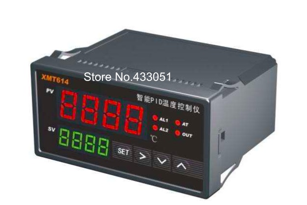 цена на Intelligent PID temperature controller, the input signal thermocouple, PT00, CU50, suitable for incubators, furnaces, etc.