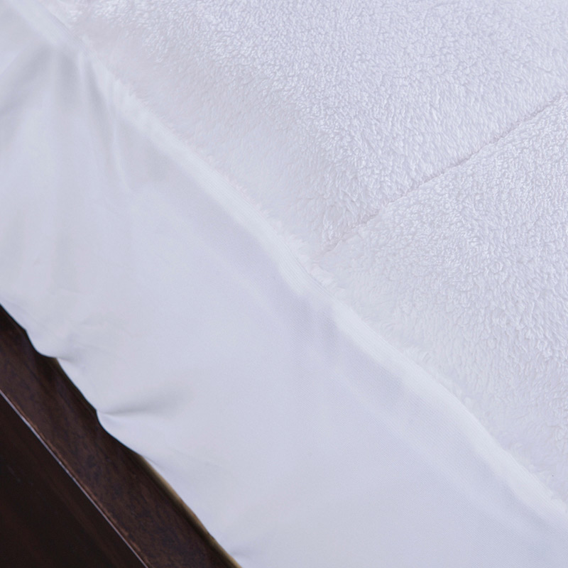 Puredown Luxury Combed Cotton Mattress Cover Polyester Nonwovens Protector Sheet Home Living Bedding Grid Pad In Covers