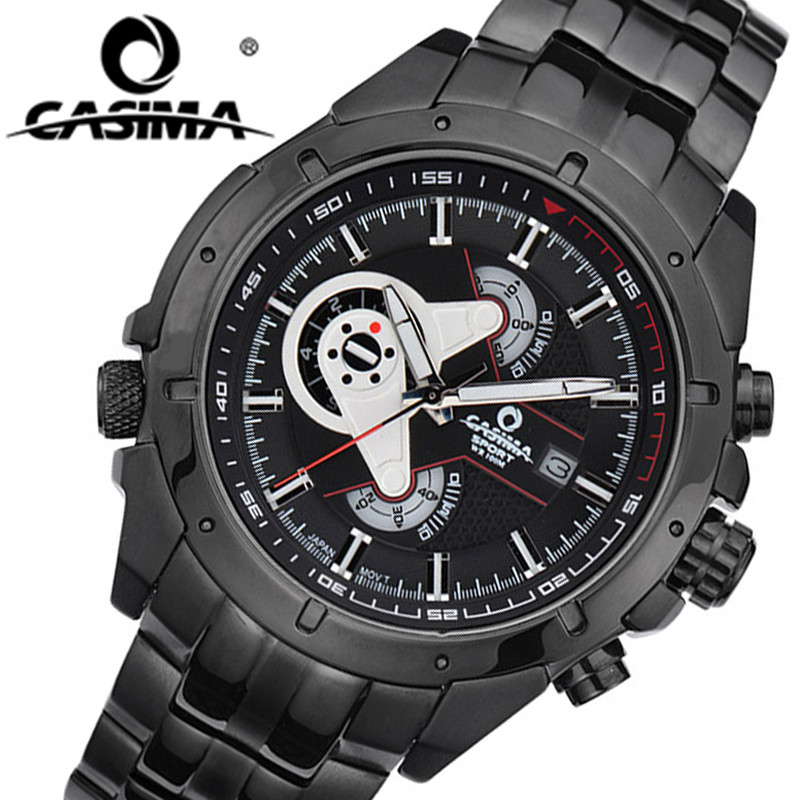 CASIMA Men Sports Luxury Brand Watches Mens Military Sport Multifunction Quartz Wrist Watch Fashion Waterproof Male Clock Reloj mens watches top brand luxury military man clock fashion quartz men wrist watch rubber strap boys male outdoor sport watch 11296