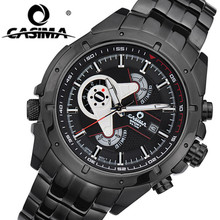 CASIMA Men Sports Luxury Brand Watches Mens Military Sport Multifunction Quartz Wrist Watch Fashion Waterproof Male Clock Reloj
