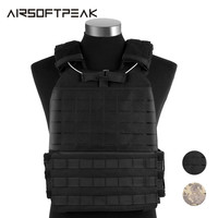 Tactical Vest Military Paintball For Crossfit Molle Adjustable Elasticity Chest Vest Outdoor Combat Assult Sports Loading Nylon