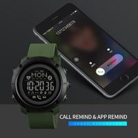 SKMEI Smart Watch For Men Calorie Sport Smart Band Heart Rate Sleep Monitor Smartwatch Waterproof Watch Bracelet Men Android IOS