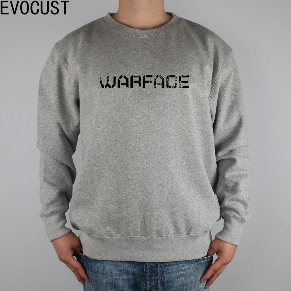 Konstruktiv Warface Logo Horizontalen Schwarzen Warface Sur Pc Xbox 360 Gamekult Männer Sweatshirts Dicke Gekämmte Baumwolle
