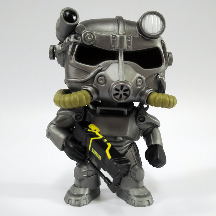 Fallout – Funko Pop Lone Wanderer Vault Boy with Power Armor | 4″