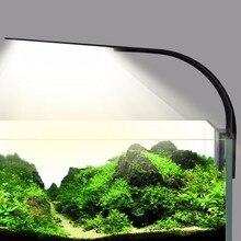 Ultra-thin LED Aquarium Lamp Fish Tank Light X5 10W High Brightness Aquarium Fish Tan EU Plug long life-span
