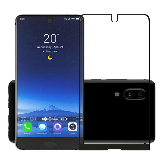 2.5D 9H Premium Tempered Glass for Sharp Aquos S2 Full Coverage Screen Protector Protective Film for Sharp Aquos S2 5.5''