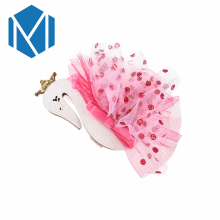 M MISM 1pc Children Animal Hairpins Candy Color Yarn Flower Swan Hair Clip Kids Headdress Cute Hairgrip Accessories