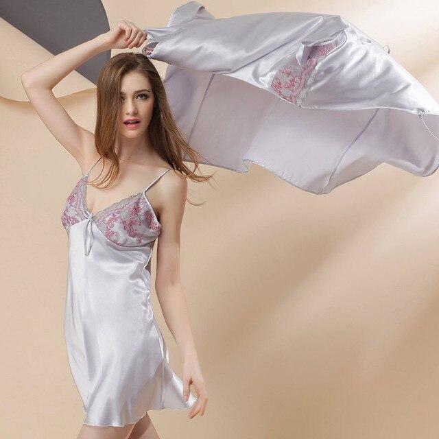 Халаты Настоящее Полиэстер Короткие Твердые Для Batas Para Mujer Pijama Женщины Одеваются Новый 2016 MS Сексуальность Пижамы Ночной Рубашке