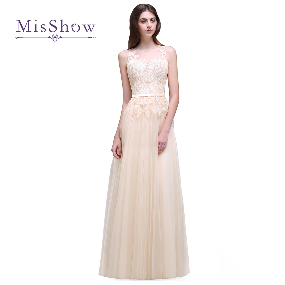 4 Design New Arrival Lace Appliques Tulle Long   Prom     Dresses   2019 Party   Dress   Formal Gowns vestido de festa vestido formatura