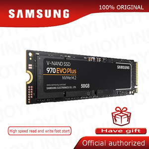 SSD M.2 SAMSUNG M2 1TB 500G 250G HD NVMe SSD Hard Drive HDD Hard Disk 1 TB 970 EVO Plus Solid State PCIe for Laptop