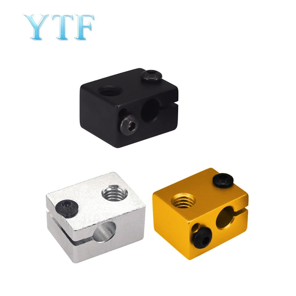 V6 Heat Block For V5 V6 J-head Extruder HotEnd 3D Printers Parts Heater Hot End Heating Accessories 20*16*12 Mm Part