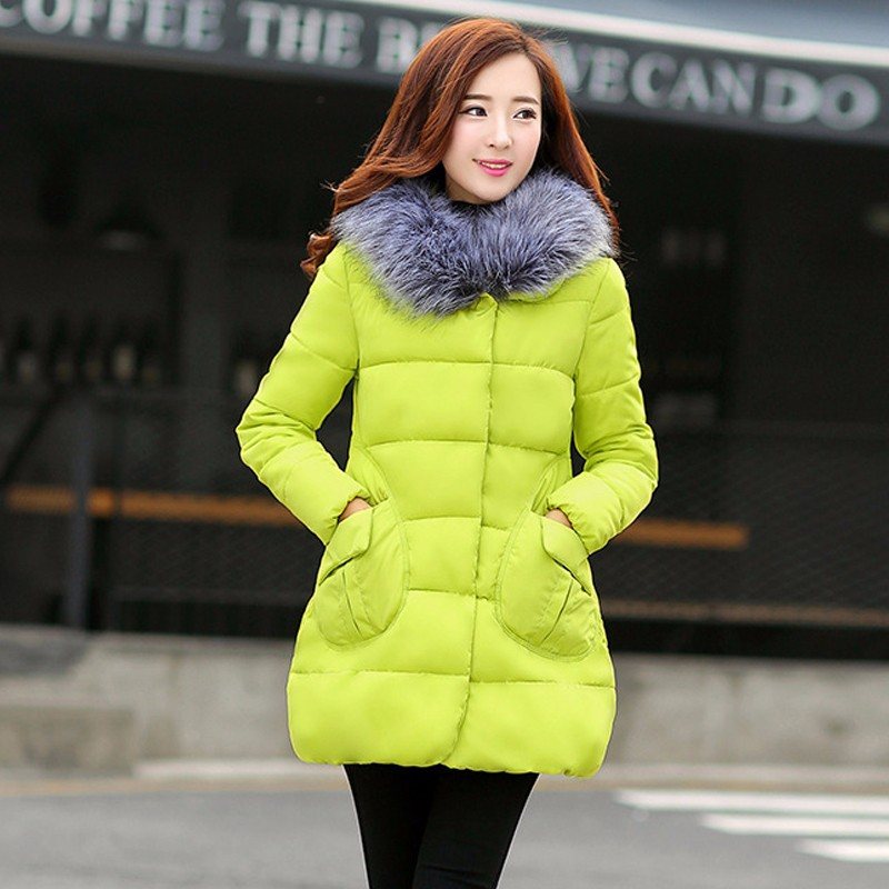 Winter Jacket Women Warm Wadded Female Parka Overcoat Hood Cotton Padded Coat Parkas Ladies Abrigos Mujer Jaqueta Feminin  2016