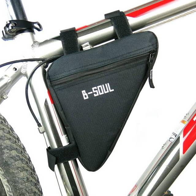 Triangle Bicycle Bag Cycling Front Tube Frame Bag MTB Mountain Bike Pouch Holder Waterproof Saddle Bag Bike Accessories