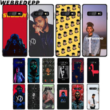 WEBBEDEPP weeknd กรณี TPU นุ่มสำหรับ Samsung Galaxy Note8 9 A10 A20 A40 A50 A60 A70 M10 M20 M30(China)
