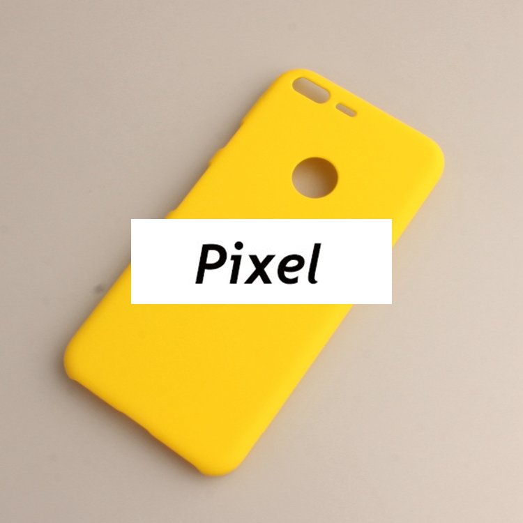 FOR Google Pixel Matte Simple Colorful Style Phone Case 5.0