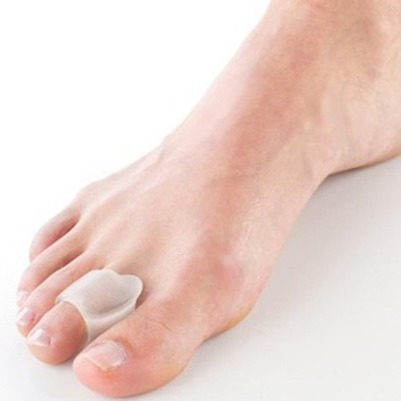 1pair=2pcs Silicone Foot Care Bunion Gel Toe Separator Toes Ring Separation Hallux Valgus Correction Plantar Fasciitis Toes