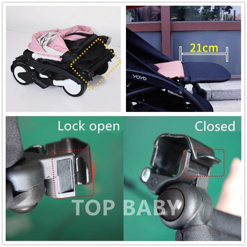 2018 Kinderwagenaccessoires voor Babyzen Yoyo + Babytijd Voetsteun - Activiteit en uitrusting voor kinderen - Foto 5