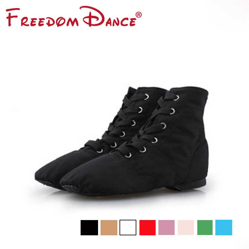 a2c57cea8 Оптовая продажа ткань Джаз балетки Обувь для танцев Разделение замши  кожаная подошва спортивные кроссовки спортивная обувь