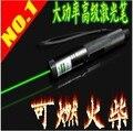 НОВЫЙ Повышенной мощности военный Зеленый лазерная указка 10000 МВт/10 Вт 532nm, Горящую спичку, сжечь сигареты, Lazer Beam Военные + Зарядное Устройство + Коробка Подарка