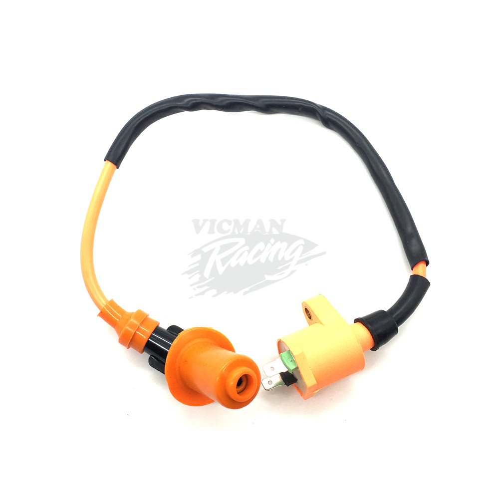 Image 2 - Racing Ignition Coil For GY6 50 GY6 50CC 125CC 150CC Engines Moped Scooter ATV Quad Motorcycle High Pressure coil-in Motorbike Ingition from Automobiles & Motorcycles