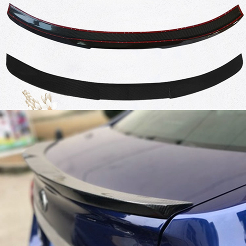 Car-Styling For subaru Legacy Carbon Fiber rear trunk boot Wing Spoiler 2016-2017Car-Styling For subaru Legacy Carbon Fiber rear trunk boot Wing Spoiler 2016-2017