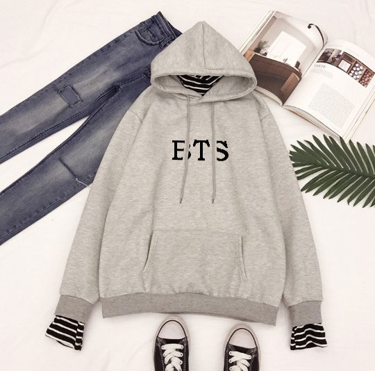2018 new kpop BTS Bangtan Boys hoody V jung kook suga jimin Velvet fake two Student jacket coat men and women Hoodies