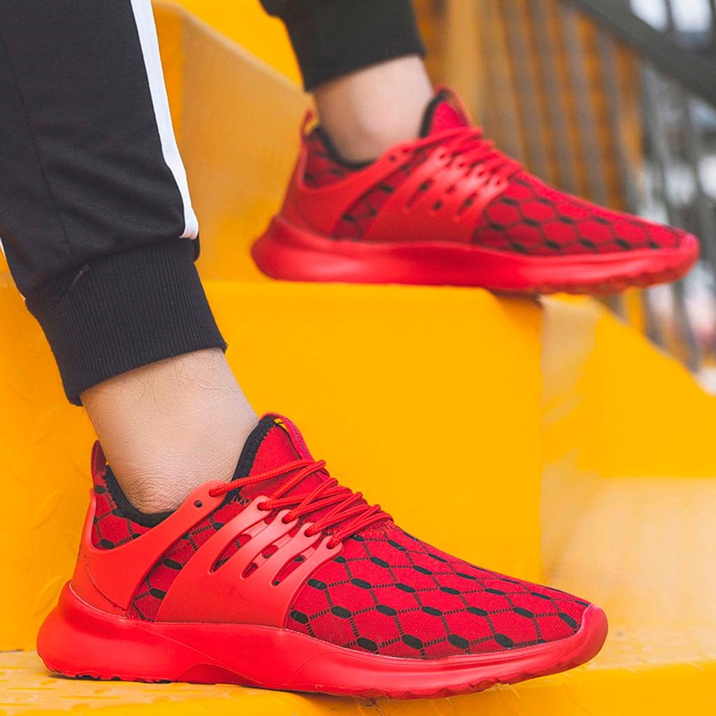 Respirant Adulte De Légère Maille Noir rouge Homme Sneakers Xtn Hommes Noir Rouge blanc Chaussures Sport Espadrilles 5zUYq5nHx