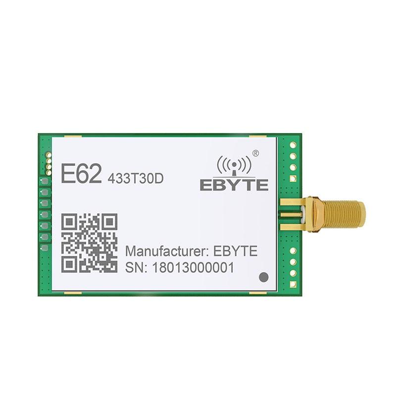 E62 433T30D 1W Full Duplex 433mhz Rf Module Long Range Wireless Transceiver Iot Transmitter And Receiver
