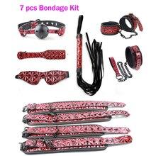 Luxury Leather Fetish BDSM Bondage Kit