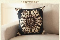 45*45CM Vintage Decorative Home Pillow Case Cover Living Room Bed Chair Seat Waist Throw Cushion Flowers Pillowcases