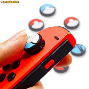 Image 3 - 1pcs Silicone Analog Controller Stick Grips for Nintend Switch NS Controller Skin Joy Con Caps Controller Cover