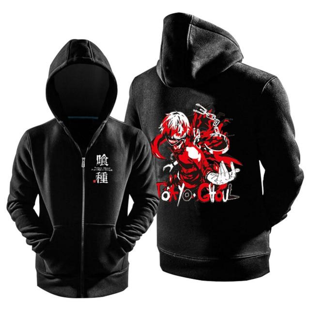 Anime Tokyo Ghoul Hoodies Cosplay Kaneki Ken Hoodie Jacket Coats