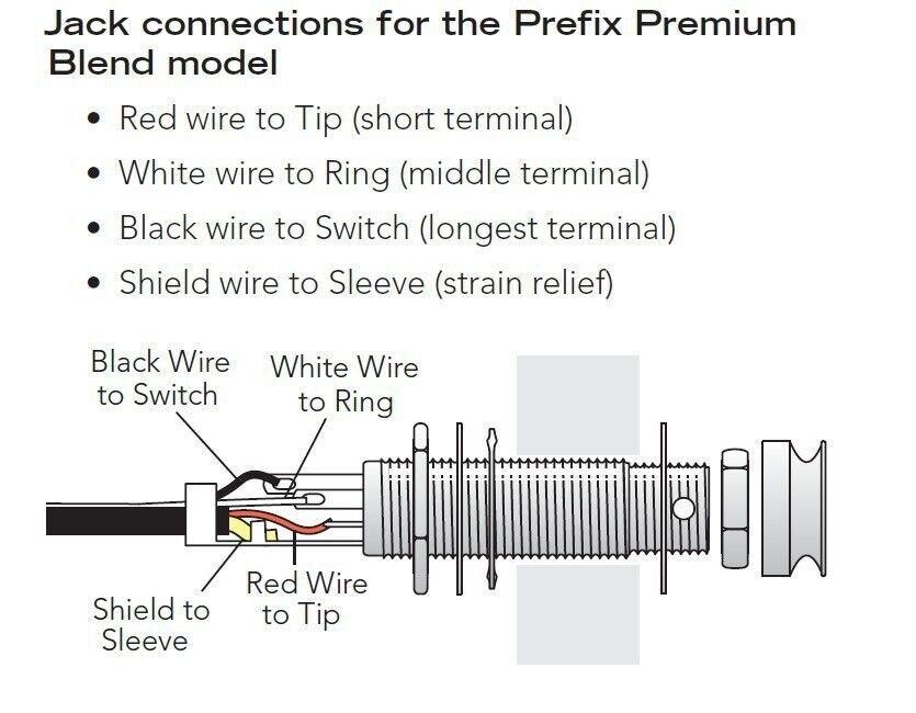 end pin jack wiring wiring diagrams set Les Paul Wiring Diagram