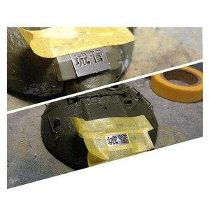 Image 5 - 1/35 skala Military Modell AFV Digital Camo Stenciling Vorlagen Medium Muster AJ0014 Modell Malerei Werkzeuge