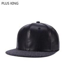 Высокое качество осень зима утолщенная шерсть и искусственная кожа хип-хоп шляпа