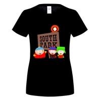 GILDAN 2017 Hip Hop womens Skateboards Hoodie O neck South Park Print Sweatshirts Brand Clothing Streetwear Hoodies
